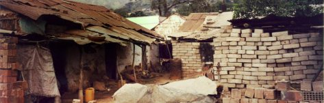 Eritrea slum