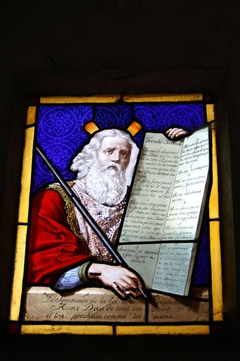 Moses and Ten Commandments