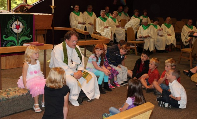 Should Children be Forced to Attend Church with Adults?